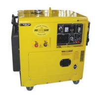 NO.118 HM8500SAW(6.0KVA,WELDING GENERATOR,200A,WITH ATS)